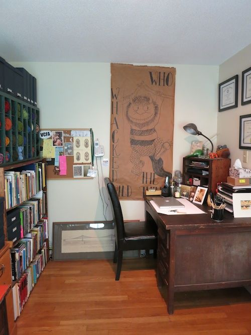 Office. From the Living With Kids Home Tour featuring Ginger Johnson