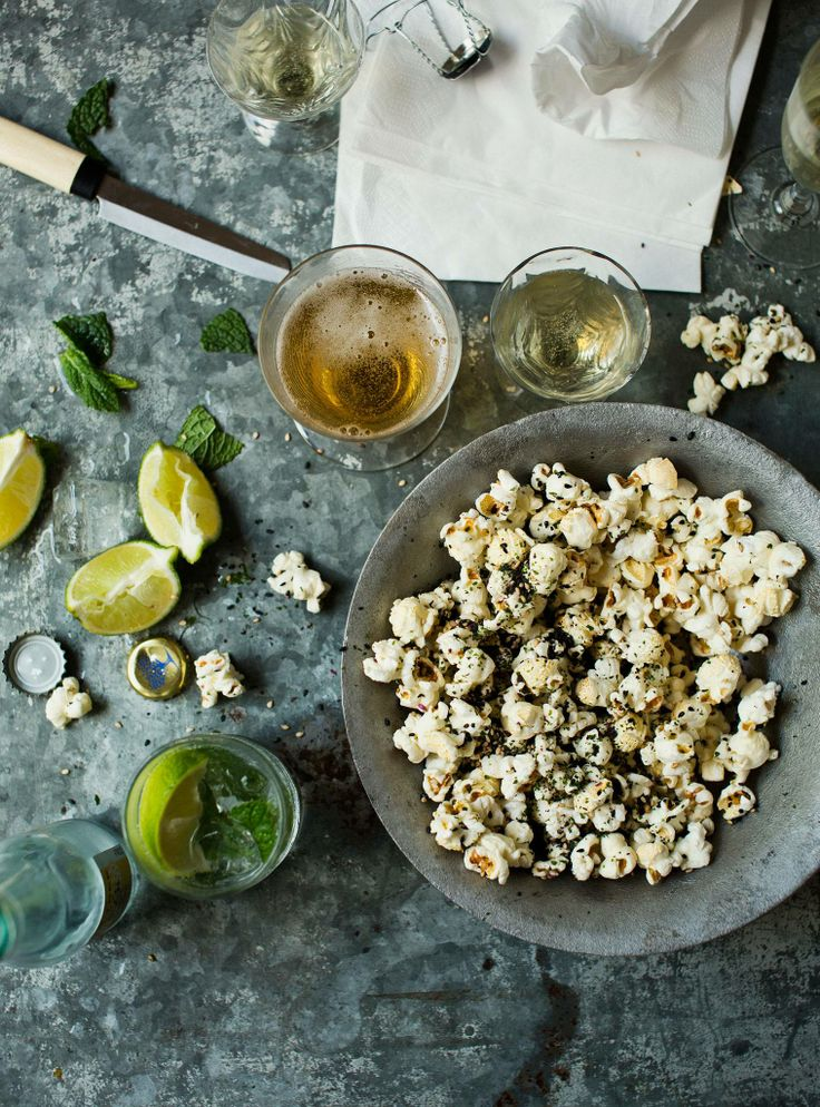 Bill Granger recipe: Furikake popcorn | Vegetarian Snacks | Pinterest