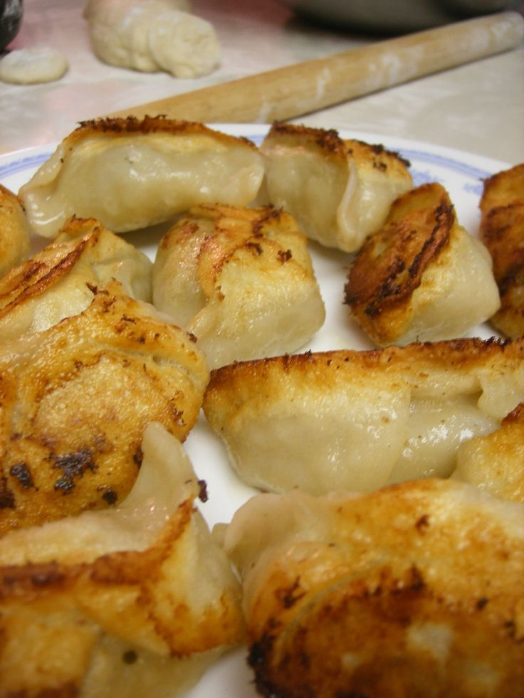 Sweet Potato Pot Stickers | Recipe