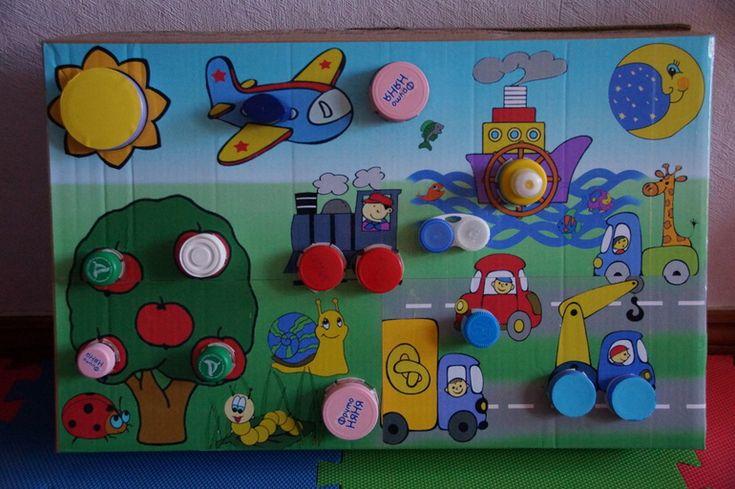 Развивающие игрушки своими руками для детей 4-5 лет фото 62