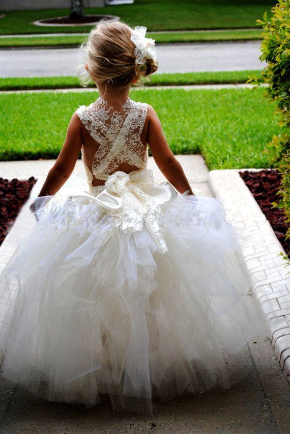 Beautiful Flower Girl Dress Buffie And Rob Beach Wedding Theme P