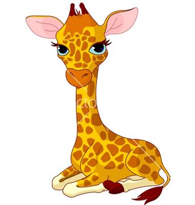 Giraffe calf ve... Vectorstock Media