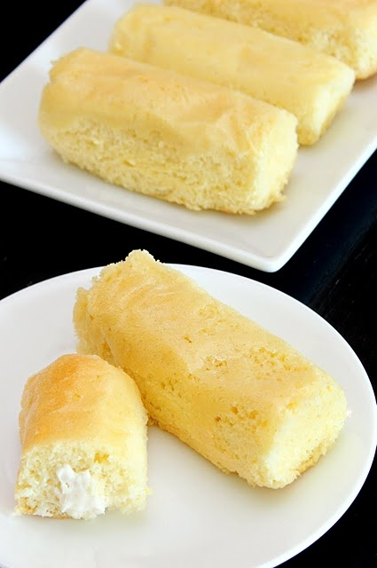 Homemade Twinkies. Since they stopped making them I'll have to learn ...