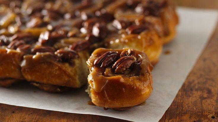Caramel-Pecan Sticky Rolls   Recipe