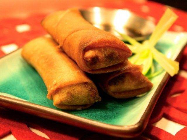 Shanghai-style spring rolls | Recipe