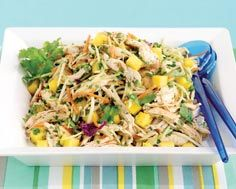 CHIPOTLE CHICKEN AND MANGO SLAW | Food - Main Dishes | Pinterest