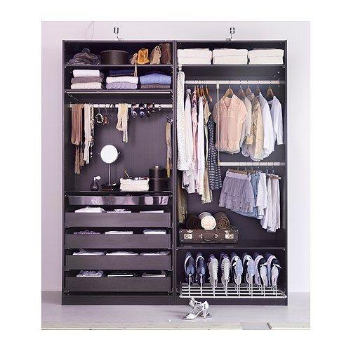 Ikea pax remodel pinterest - Dressing extensible ikea ...