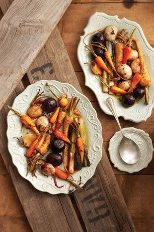 Honey-roasted root vegetables | Autumn & Winter Vegetables-Fruits | P ...
