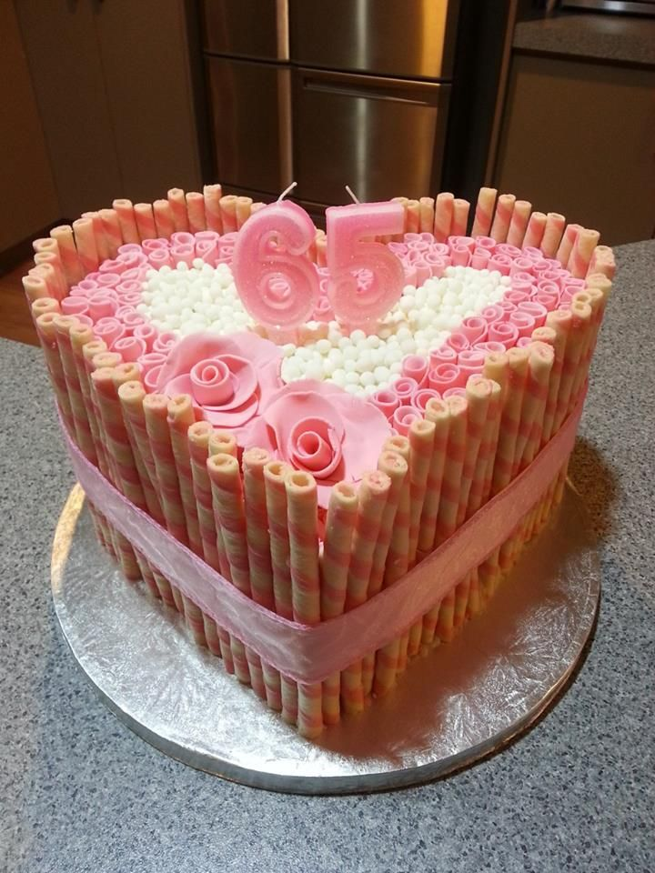 Birthday cake made by Sarah and Louisa | Sarah's homemade birthday ca ...