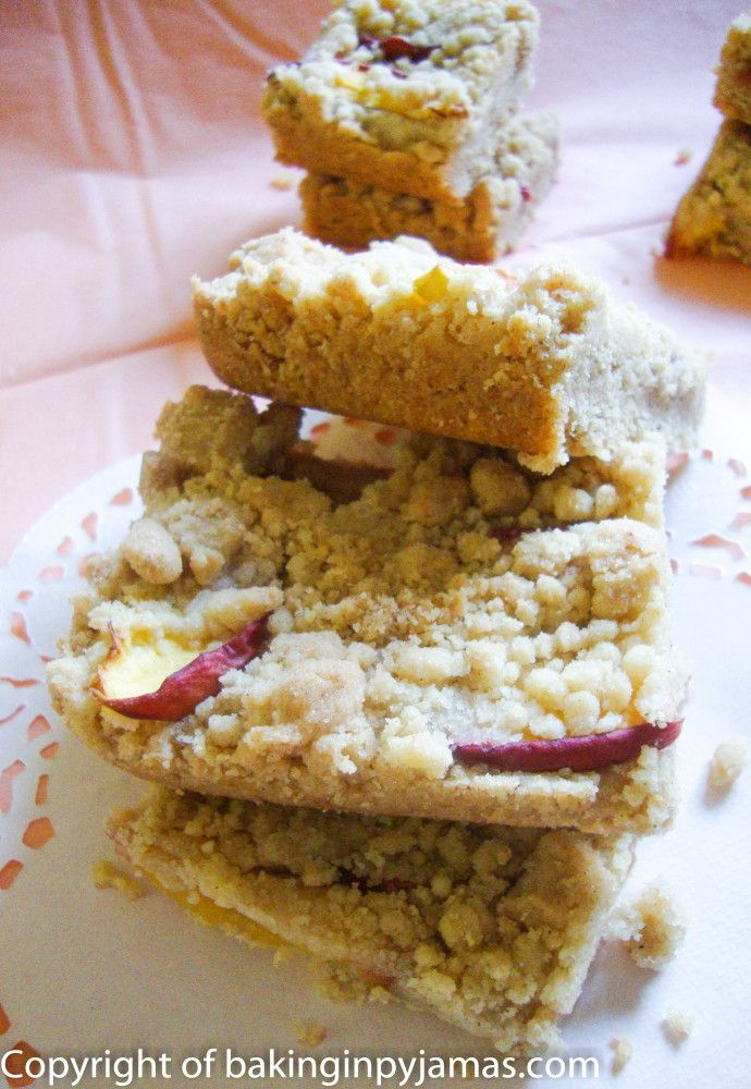 Peach Brown Butter Shortbread | Recipes To Try | Pinterest