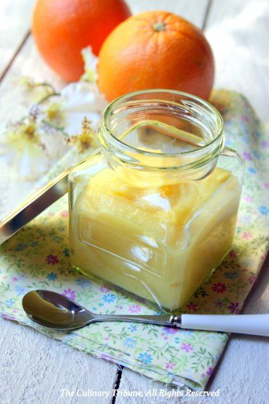 Orange Curd | ! Join me in the kitchen ! | Pinterest