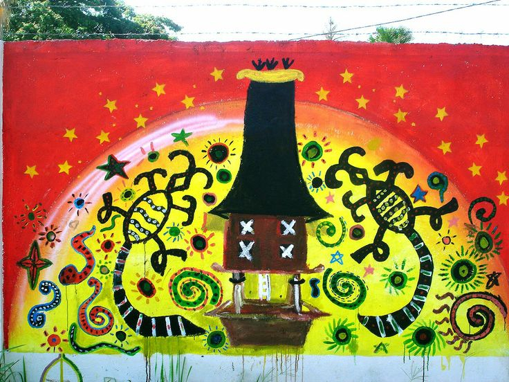 This is a mural/graffiti on a wall in East Timor. #TimorLeste #Graffiti #ModernImages Photo credit: http://peaceofwall.blogspot.com/