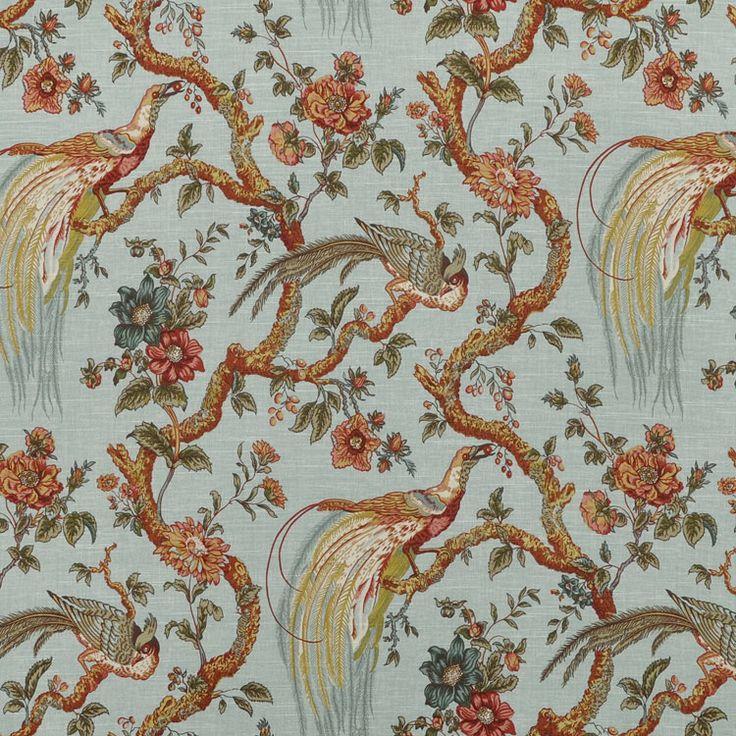 Waverly Olana/OXF Bay Leaf Fabric