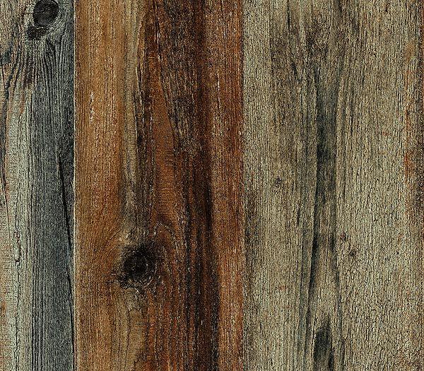 walnut faux wood plank wallpaper