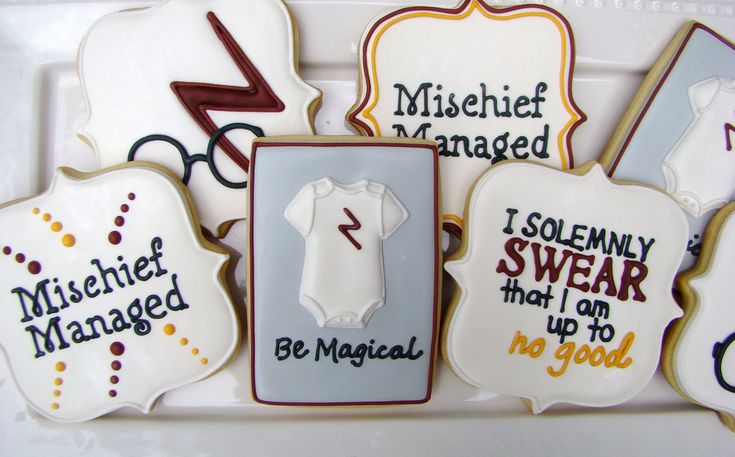 harry potter themed baby shower cookies omgoodness i know i am on