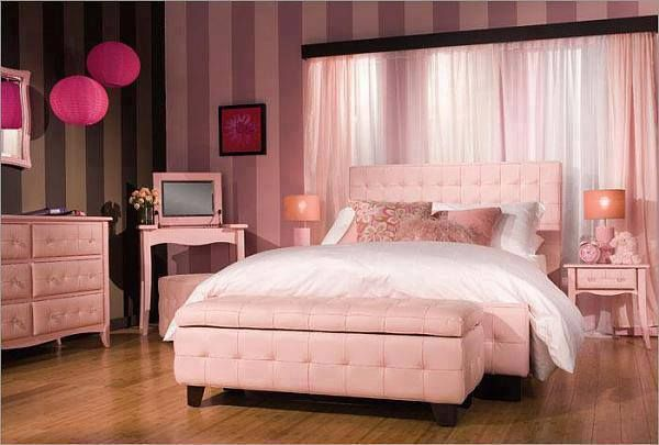 Pin by destiny cruz on abuela 39 s house pinterest for Dusty rose bedroom ideas