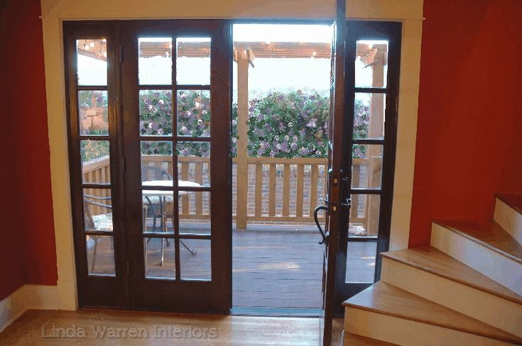 Exterior french doors dark wood french doors pinterest for Wood french front doors