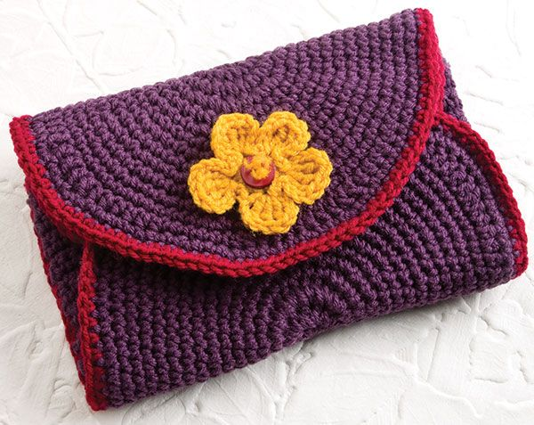 Free Crochet Patterns For Organizers : Pin by Linda Huff on Crochet Cosmetic Bag,Jewelry Bags ...