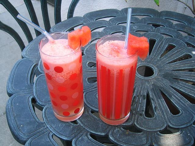 Watermelon vodka slushes | Drinks and Recipes | Pinterest