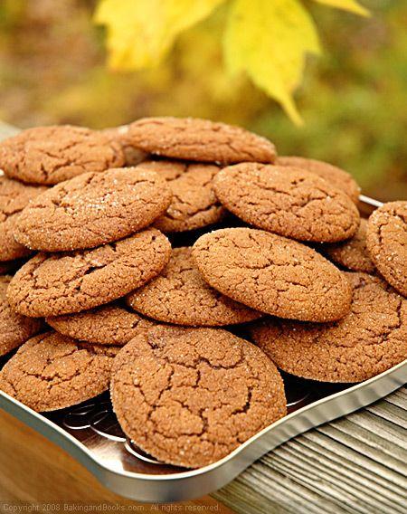Molasses Spice Cookies | Spice Cookies | Pinterest