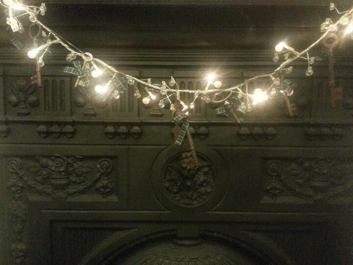 Old keys and christmas lights stunning craft pinterest