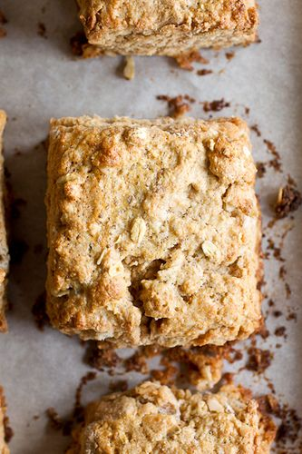 Oat and Maple Syrup Scones | yum | Pinterest