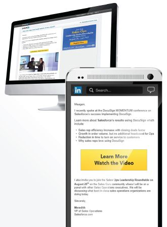 Linkedin announces the availability of sponsored inmail on mobile and