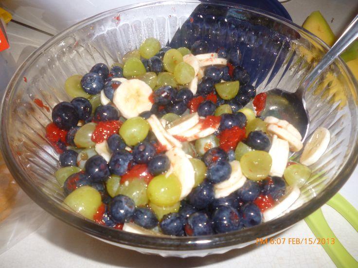 Fruit Salad w/Honey Lime Dressing