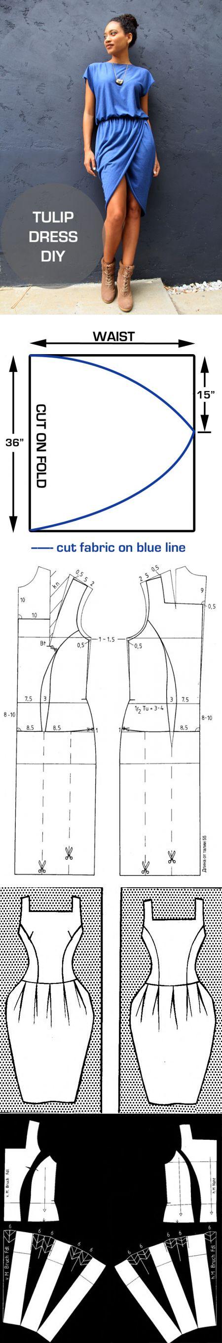Как легко сшить простое платье? Как быстро сшить платье на 47
