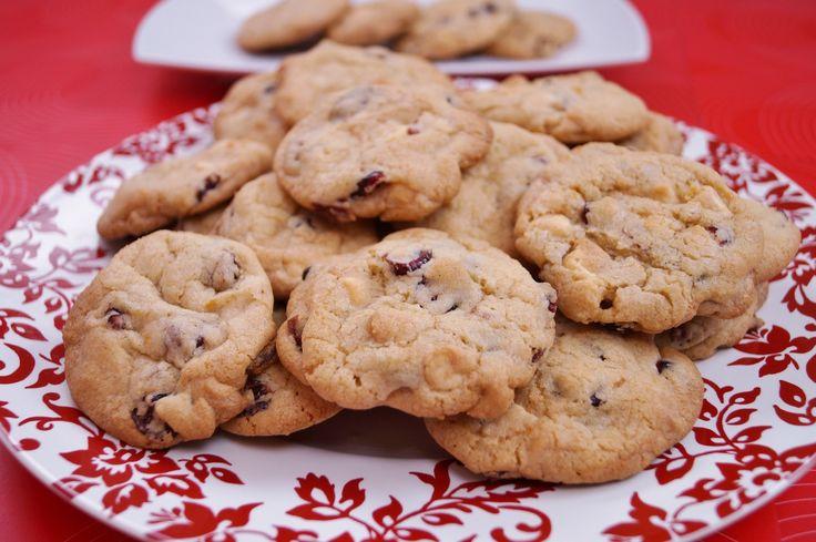 White Chocolate Cranberry Orange Cookies | Just Desserts | Pinterest