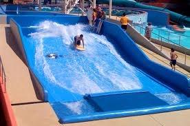 flowrider wave pool occ backyard pinterest