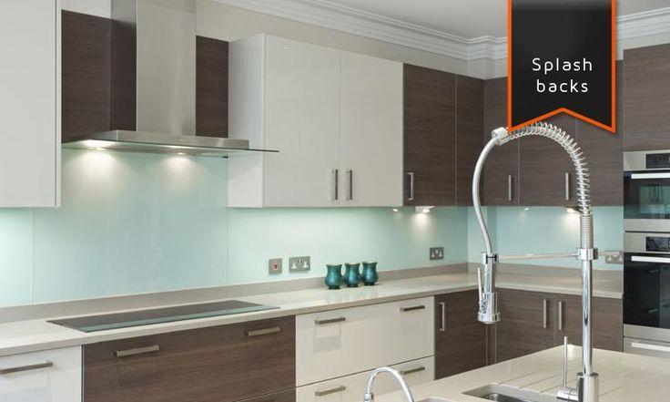 Star glass kitchen splashback home pinterest Kitchen profile glass design