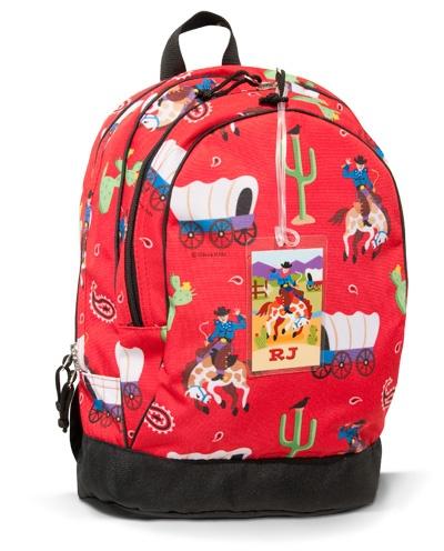 ... Backpack-ride, cowboy, western, rodeo, back, pack, olive, bag, school