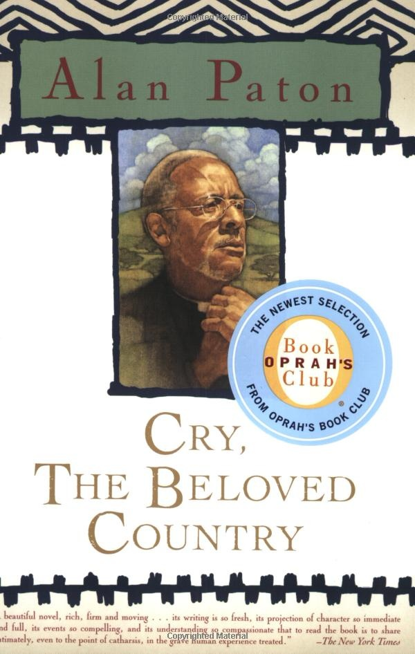 a book report on beloved Book review roger s clark cry, the beloved country, by alan paton (new york: mac- millan, 1987), 283 pp $ 595 i first read cry, the beloved country in mr worthington's english class in wanganui, new zealand in 1957 it was my last year in high school the year before, the south african springboks rugby.