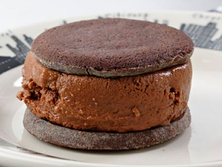 Chocolate Malt Ice Cream Sandwiches Recipe