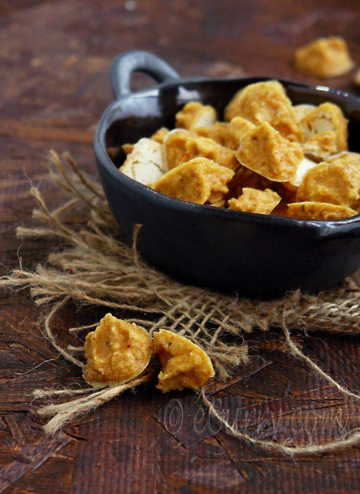 Homemade Mung Wadi or Mungaudi – Sun-dried Lentil Drops