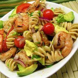 Zesty lime shrimp and avocado salad | Favorite Recipes | Pinterest