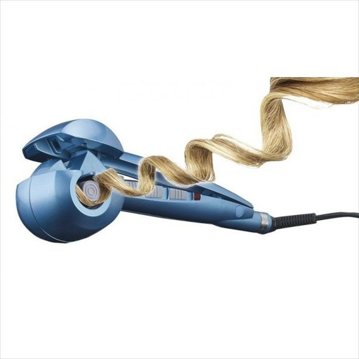 machine curls hair