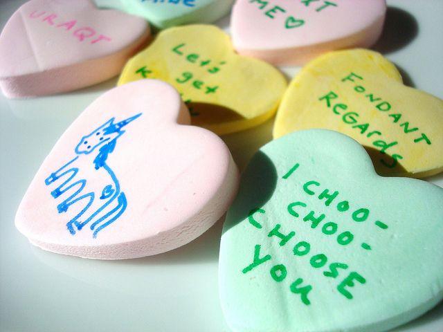 DIY Conversation Hearts: It's Easy! | Valentines | Pinterest