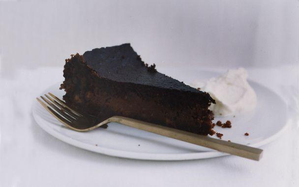 con Vaniglia e Nocciola (Perugian-Style Chocolate Hazelnut Cheesecake ...