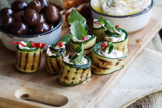Courgette rolls with Feta, Mint & Chilli - Simply Delicious— Simply ...