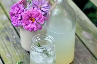 Sparkling Rosemary Limeade Recipes | Beverages | Pinterest