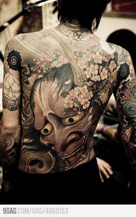 Japanese tattoo.