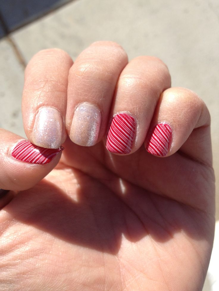 Nail art stripes | My nails | Pinterest