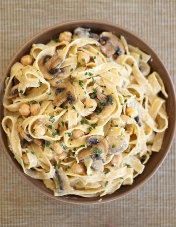 chickpeas spinach and chickpeas tagliatelle with chickpeas recipes