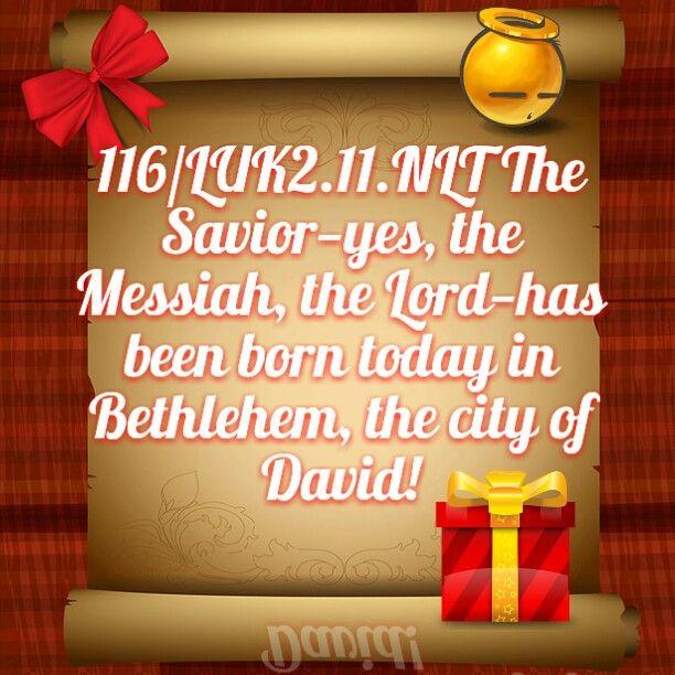 Happy Birthday Jesus Christ of Nazareth! & Merry Christmas to All!