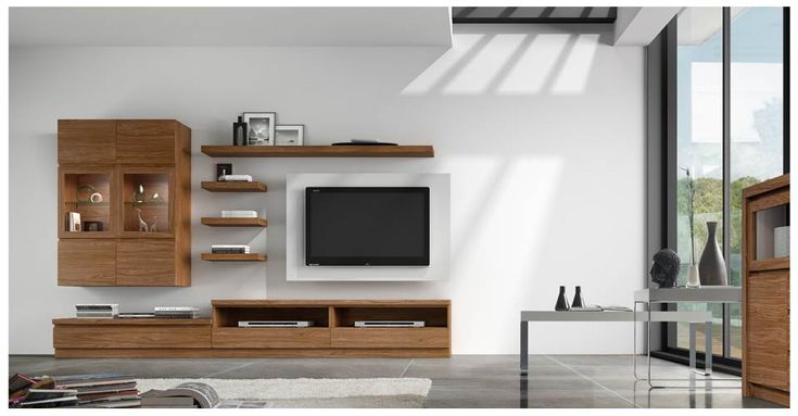 Modern TV Center  Living Room Ideas  Pinterest
