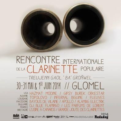 Rencontres clarinette glomel