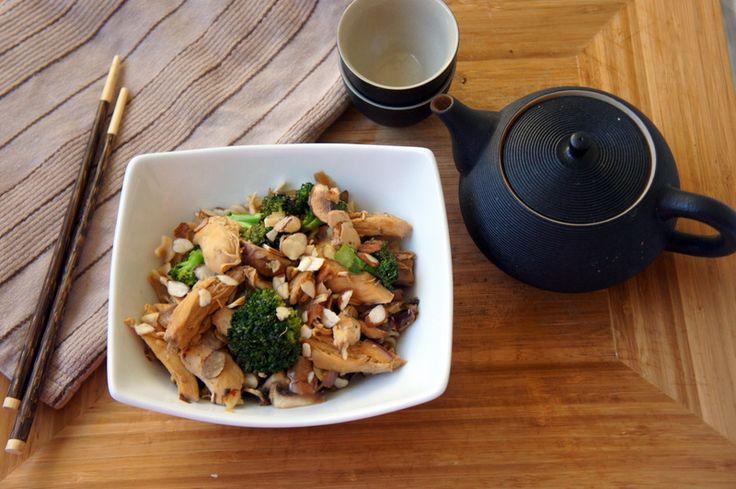 Broccoli Chicken and Mushroom Saute | Chicken Main Dish | Pinterest