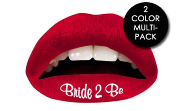 Amazing Bachelorette Party Idea: Temporary Lip Tattoos
